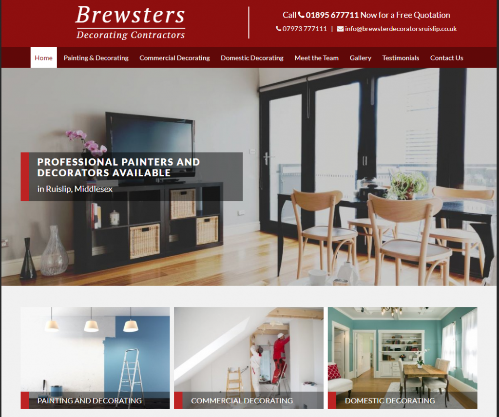 Brewsters Decorating Contractors Thomson Local