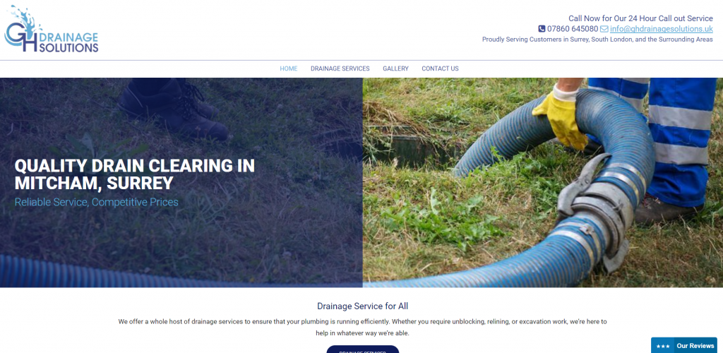 GH Drainage Solutions - Thomson Local